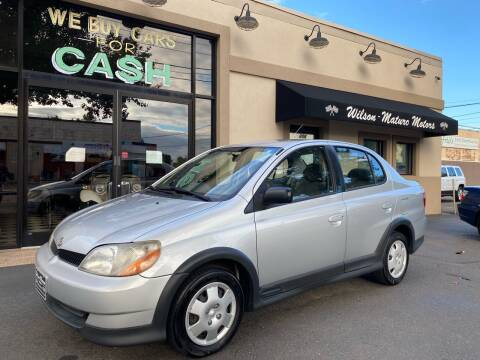 2000 Toyota ECHO for sale at Wilson-Maturo Motors in New Haven CT