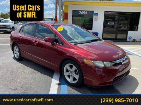 2007 Honda Civic for sale at Used Cars of SWFL in Fort Myers FL