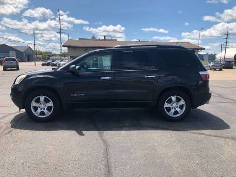 2008 GMC Acadia for sale at Mike's Budget Auto Sales in Cadillac MI