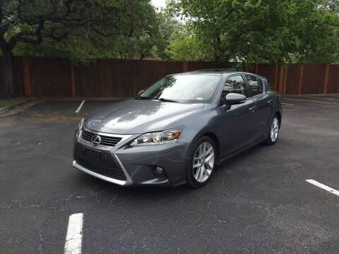2014 Lexus CT 200h for sale at 57 Auto Sales in San Antonio TX