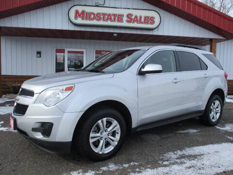2015 Chevrolet Equinox for sale at Midstate Sales in Foley MN