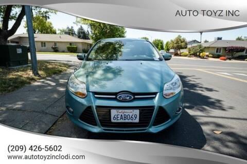2012 Ford Focus for sale at Auto Toyz Inc in Lodi CA