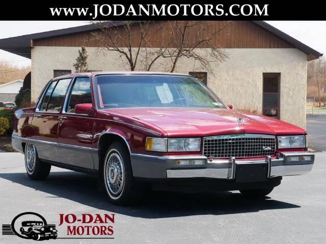 1989 Cadillac Fleetwood for sale at Jo-Dan Motors - Buick GMC in Moosic PA