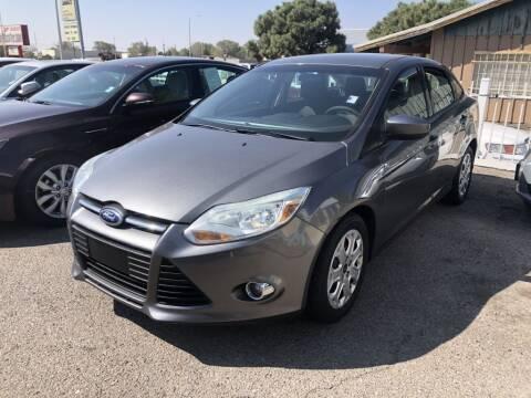 2012 Ford Focus for sale at Top Gun Auto Sales, LLC in Albuquerque NM