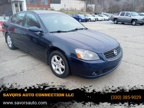 2006 Nissan Altima for sale at SAVORS AUTO CONNECTION LLC in East Liverpool OH