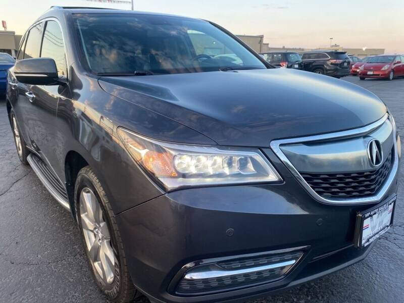 2014 Acura MDX for sale at VIP Auto Sales & Service in Franklin OH