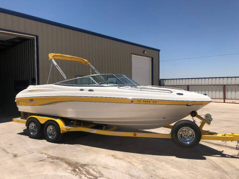 2006 Chaparral 210 SS for sale at TEXAS CAR PLACE in Lubbock TX