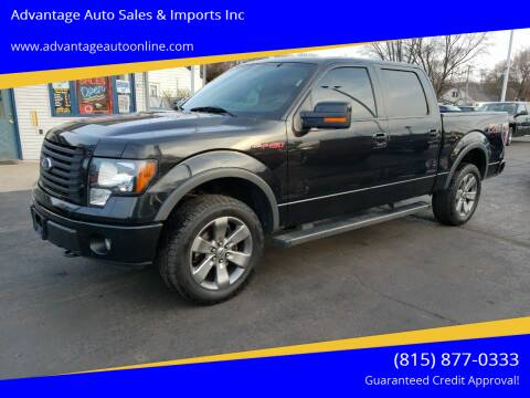 2012 Ford F-150 for sale at Advantage Auto Sales & Imports Inc in Loves Park IL
