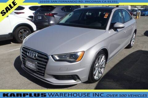 2016 Audi A3 for sale at Karplus Warehouse in Pacoima CA