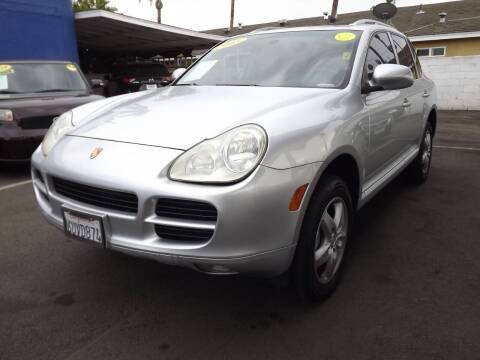 2005 Porsche Cayenne for sale at PACIFICO AUTO SALES in Santa Ana CA