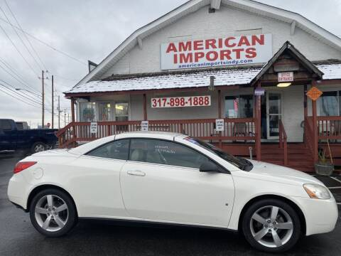 2008 Pontiac G6 for sale at American Imports INC in Indianapolis IN
