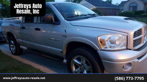 2007 Dodge Ram Pickup 1500 for sale at Jeffreys Auto Resale, Inc in Clinton Township MI