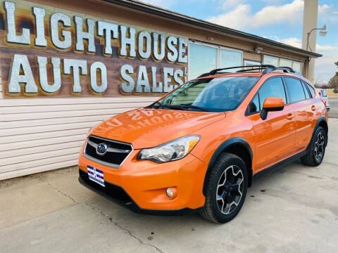 2014 Subaru XV Crosstrek for sale at Lighthouse Auto Sales LLC in Grand Junction CO