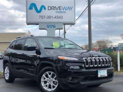 2017 Jeep Cherokee for sale at Driveway Motors in Virginia Beach VA