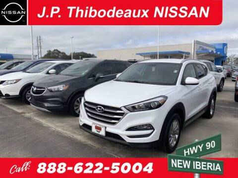 2017 Hyundai Tucson for sale at J P Thibodeaux Used Cars in New Iberia LA