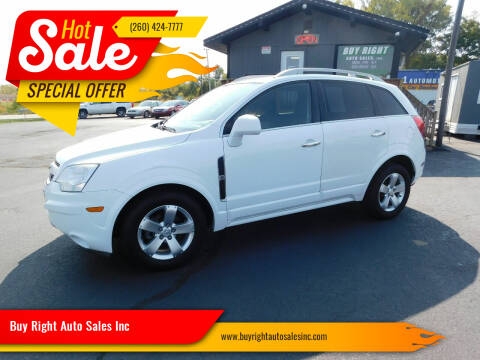 2013 Chevrolet Captiva Sport for sale at Buy Right Auto Sales Inc in Fort Wayne IN