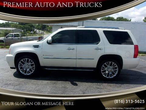 2008 Cadillac Escalade for sale at Premier Auto And Trucks in Independence MO