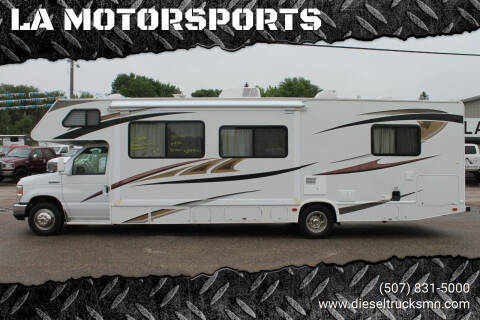 2010 Ford E-Series Chassis for sale at LA MOTORSPORTS in Windom MN