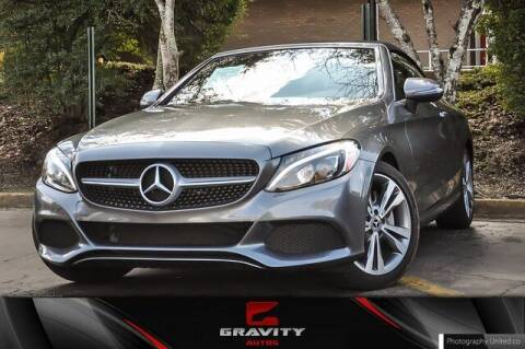 2018 Mercedes-Benz C-Class for sale at Gravity Autos Atlanta in Atlanta GA