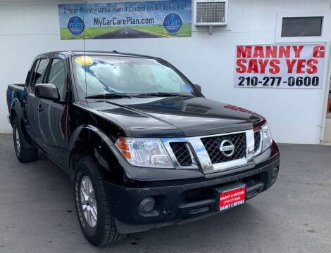2014 Nissan Frontier for sale at Manny G Motors in San Antonio TX