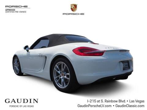 2015 Porsche Boxster for sale at Gaudin Porsche in Las Vegas NV