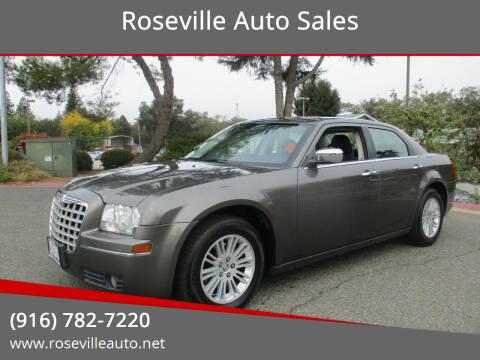 2010 Chrysler 300 for sale at Roseville Auto Sales in Roseville CA