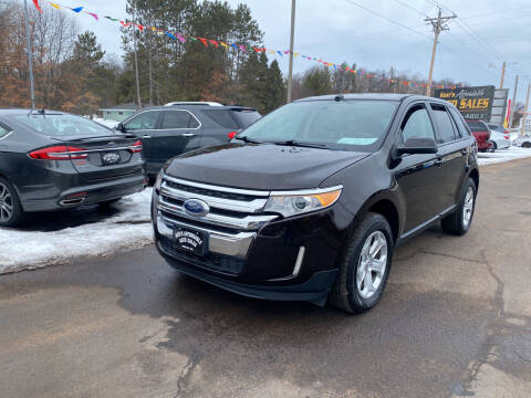 2013 Ford Edge for sale at Affordable Auto Sales in Webster WI