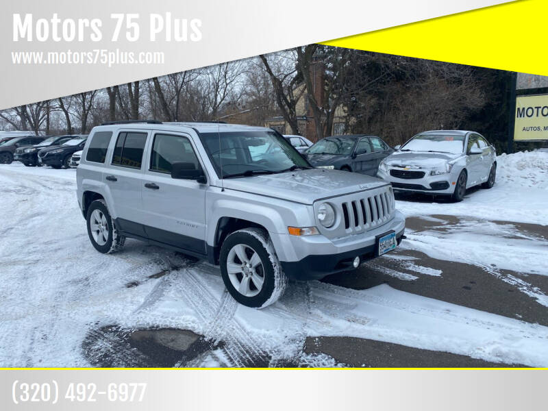 2014 Jeep Patriot for sale at Motors 75 Plus in Saint Cloud MN