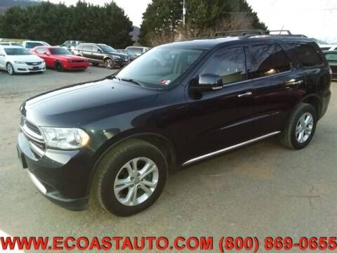 2013 Dodge Durango for sale at East Coast Auto Source Inc. in Bedford VA