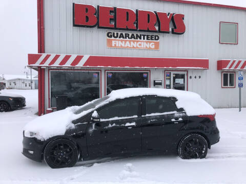 2016 Ford Focus for sale at Berry's Cherries Auto in Billings MT