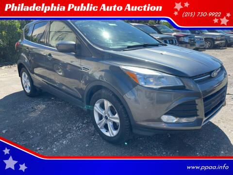 2015 Ford Escape for sale at Philadelphia Public Auto Auction in Philadelphia PA