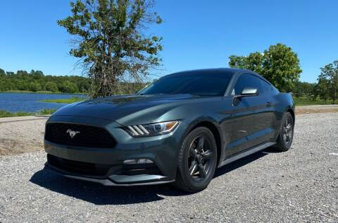 2015 Ford Mustang for sale at TINKER MOTOR COMPANY in Indianola OK