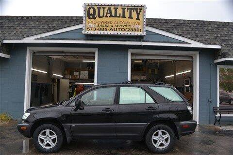 2003 Lexus RX 300 for sale at Quality Pre-Owned Automotive in Cuba MO