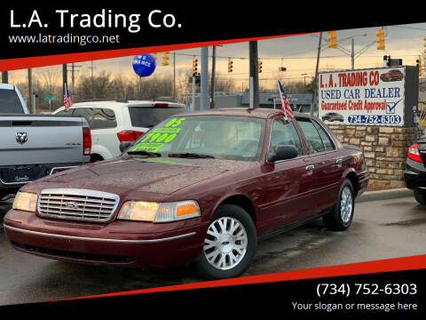 2005 Ford Crown Victoria for sale at L.A. Trading Co. in Woodhaven MI