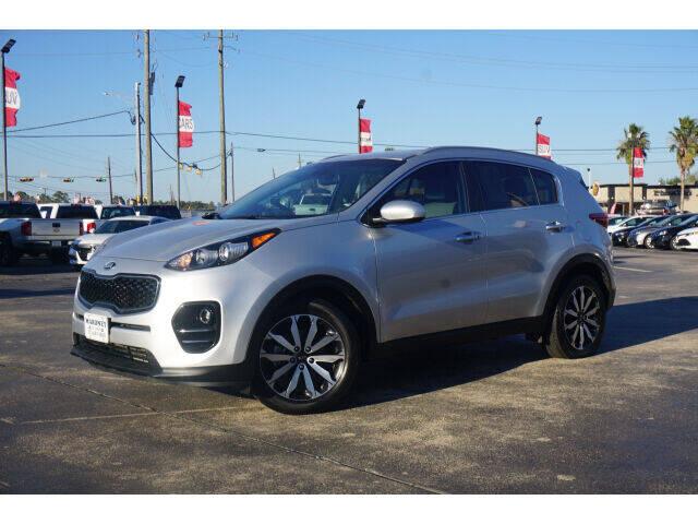 2017 Kia Sportage for sale at Maroney Auto Sales in Humble TX