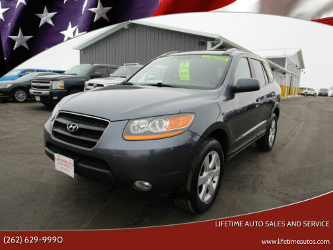 2009 Hyundai Santa Fe for sale at Lifetime Auto Sales and Service in West Bend WI
