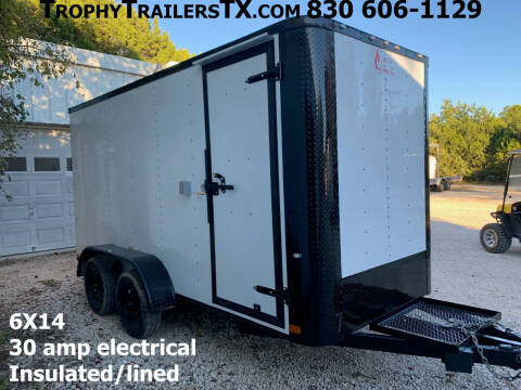 2021 CARGO CRAFT  6X14 TANDEM RAMP for sale at Trophy Trailers in New Braunfels TX