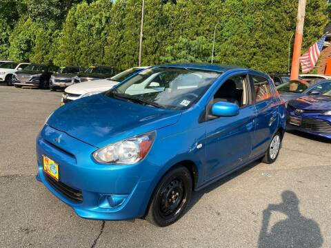 2015 Mitsubishi Mirage for sale at Bloomingdale Auto Group in Bloomingdale NJ