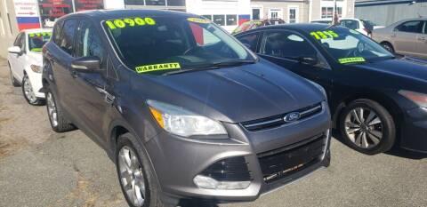 2013 Ford Escape for sale at TC Auto Repair and Sales Inc in Abington MA