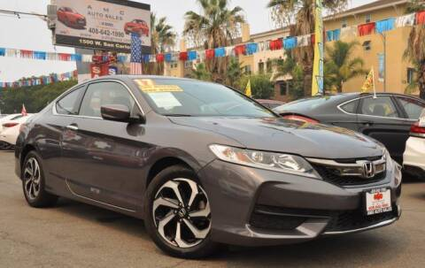 2017 Honda Accord for sale at AMC Auto Sales, Inc in San Jose CA