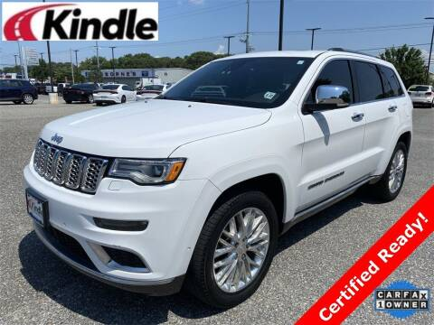 2017 Jeep Grand Cherokee for sale at Kindle Auto Plaza in Cape May Court House NJ