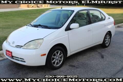 2002 Toyota Prius for sale at My Choice Motors Elmhurst in Elmhurst IL