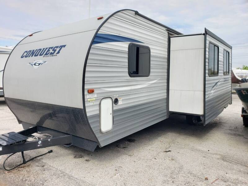 2018 Gulf Stream Conquest 274qb for sale at Ultimate RV in White Settlement TX