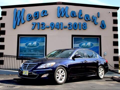 2013 Hyundai Genesis for sale at MEGA MOTORS in South Houston TX