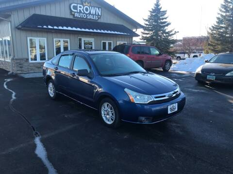 2008 Ford Focus for sale at Crown Motor Inc in Grand Forks ND