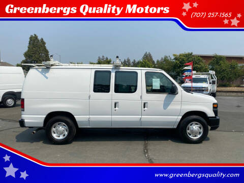 2012 Ford E-Series Cargo for sale at Greenbergs Quality Motors in Napa CA