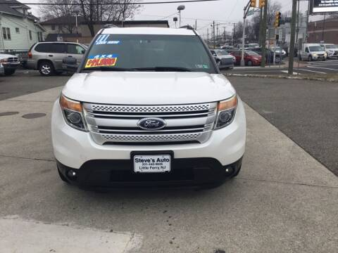 2011 Ford Explorer for sale at Steves Auto Sales in Little Ferry NJ