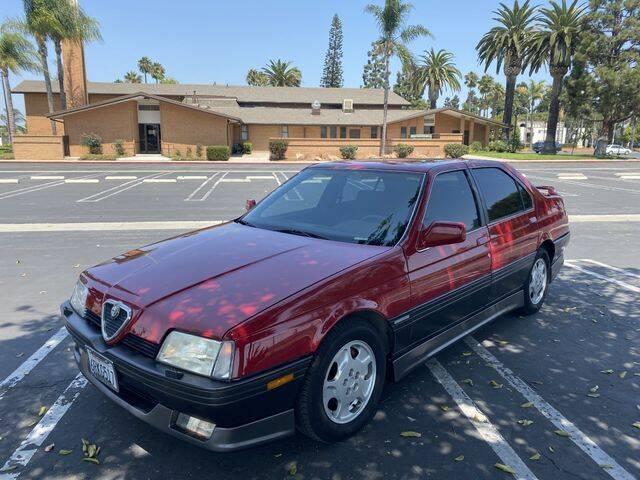 1991 Alfa Romeo 164 for sale at TOP OFF MOTORS in Costa Mesa CA