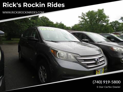 2012 Honda CR-V for sale at Rick's Rockin Rides in Reynoldsburg OH