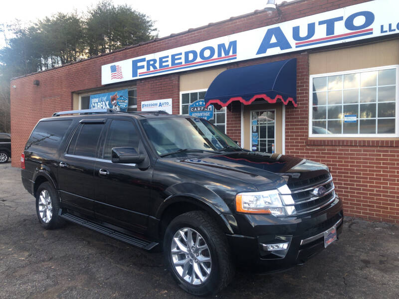 2016 Ford Expedition EL for sale at FREEDOM AUTO LLC in Wilkesboro NC